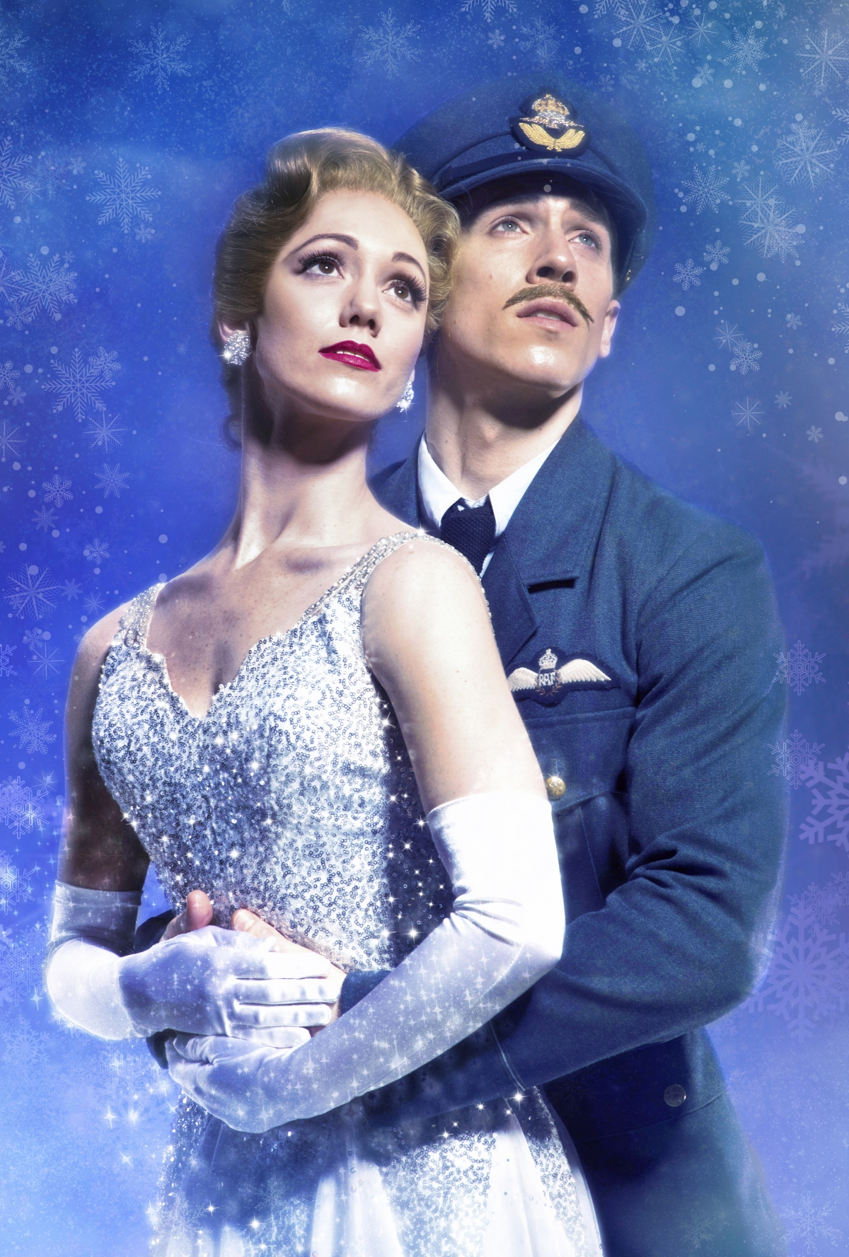 Cinderella (Ashley Shaw) and Harry, The Pilot (Andrew Monaghan)
