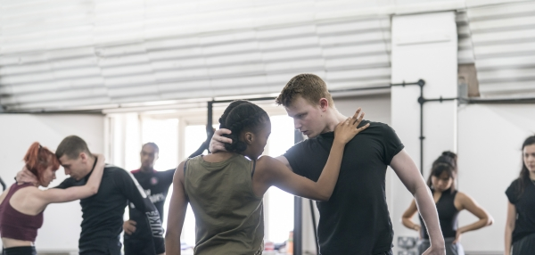 Romeo and Juliet rehearsals