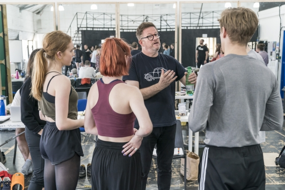Matthew Bourne in Romeo and Juliet rehearsals